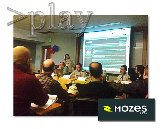 Mozes at the >play Conference