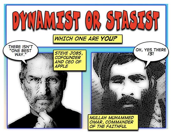 Stasist of Dynamist?
