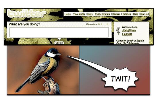 Twitter? Twitter.