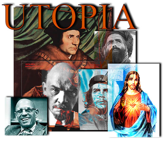 Utopias, Dystopias, and Heterotopias